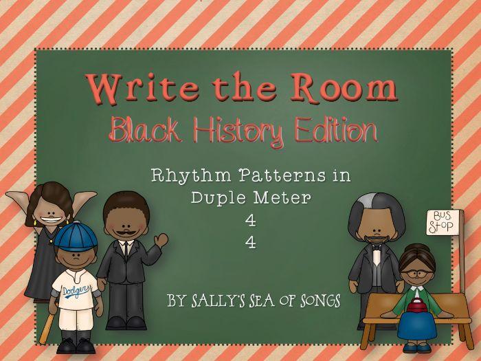 Write the Room Rhythms - Black History Edition