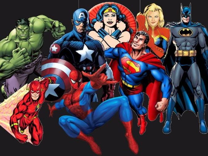 superhero maths