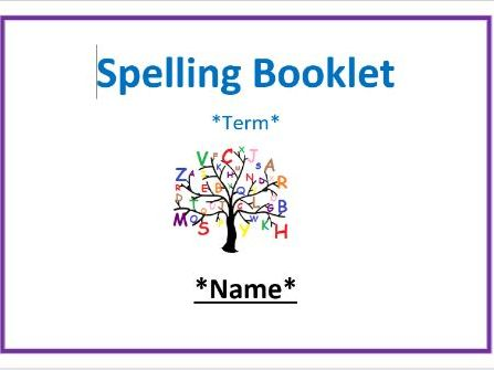Years 3/4 National Curriculum Spellings Booklet