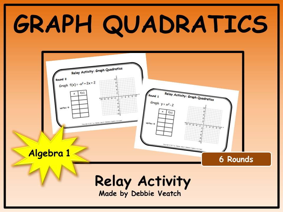 Graph Quadratics Relay Activity