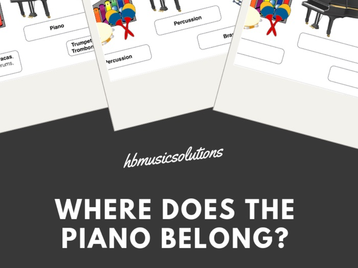 Where Does The Piano Belong? - Musical Instrument Families