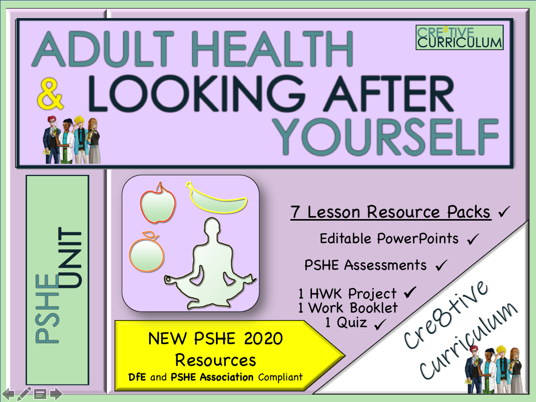 Adult Health & Looking after Yourself