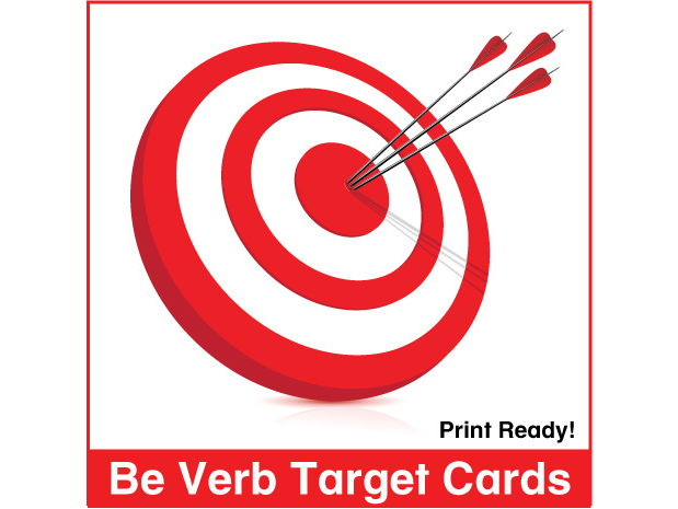 ESL Be Verb Target Cards