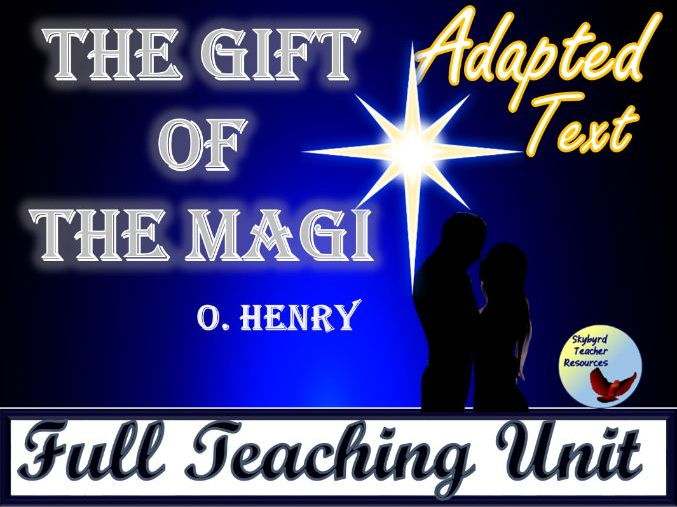 The Gift of the Magi by O. Henry Adapted Text and Literature Activities