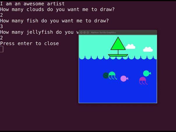 Computer Science Lab: Computer Artist
