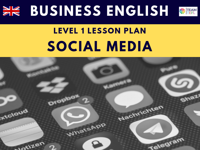 Social Media Business English Level One Lesson Plan