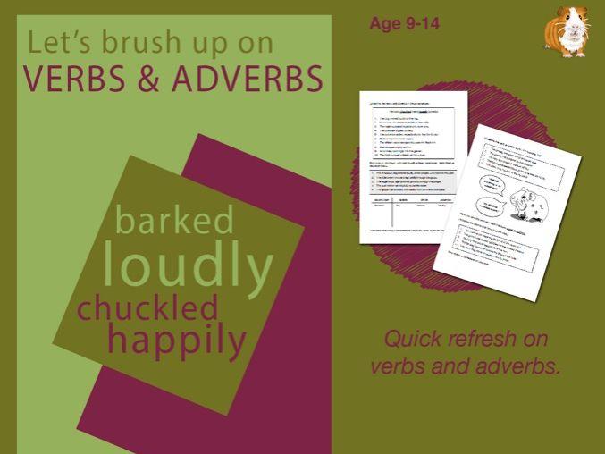 Using Verbs & Adverbs (9-14 years)
