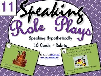 FREE Speaking Practice Cards Pack 11 {ESL Speaking Game Cards}