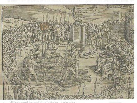 Oxford Martyrs  1555 Latimer & Ridley