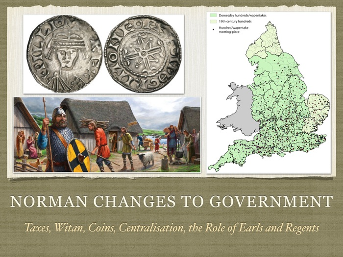 GCSE History Norman Changes to government in England
