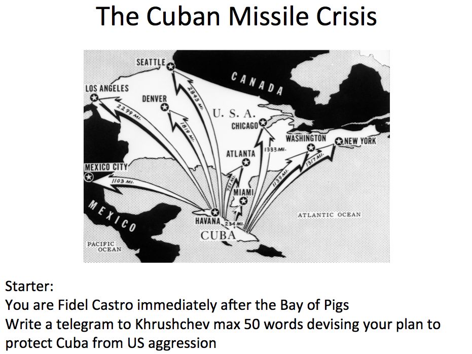 blaming khrushchev for the cuban missile The cuban missile crisis, in october 1962, was probably the closest the united states and the soviet union came khrushchev also brought into discussion the us nuclear missiles in turkey after so many years of argument over who was really to be blamed for the starting of cuban missile crisis.