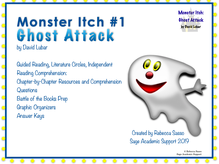 Monster Itch: Ghost Attack Novel Guide