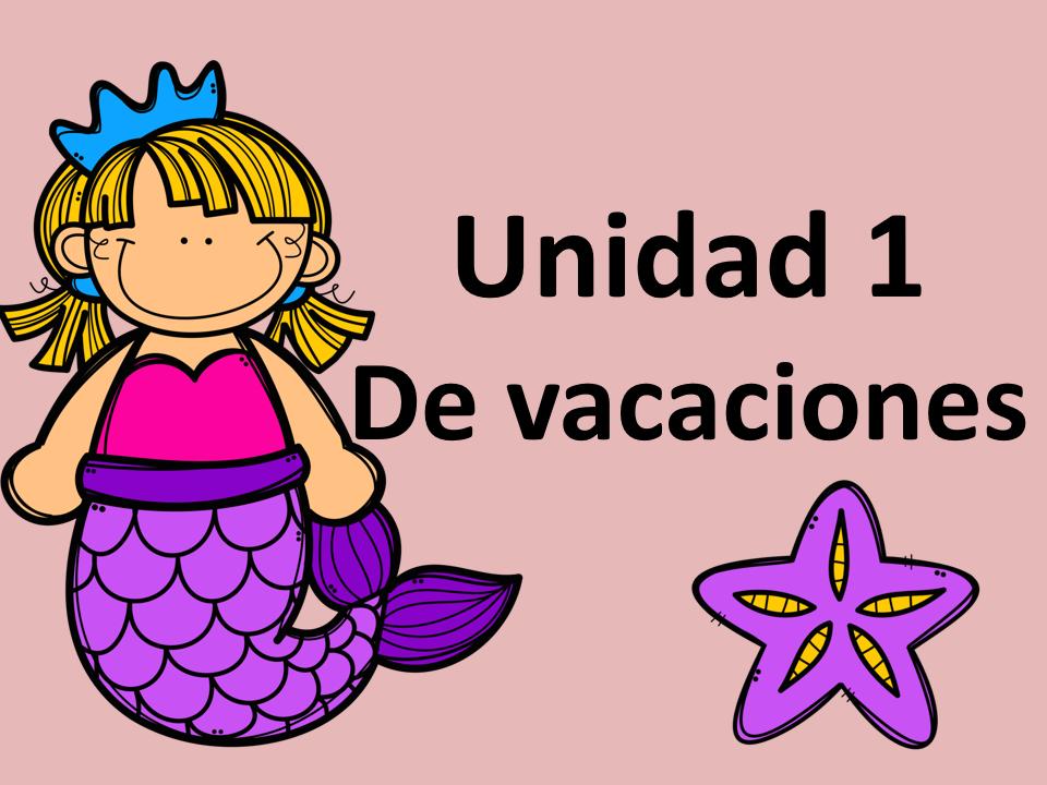AQA/Edexcel Mira Unit 1 De vacaciones