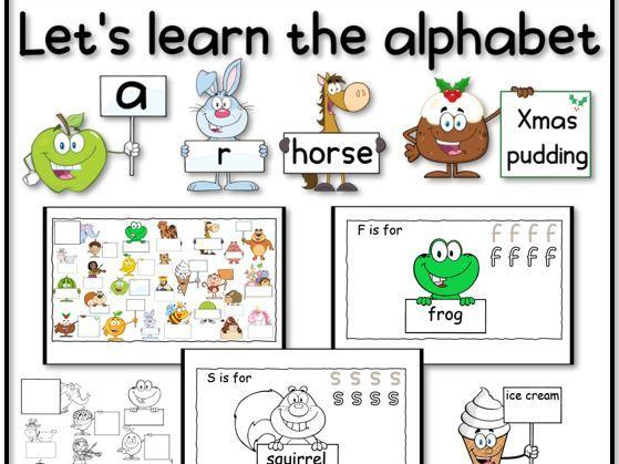 Let's learn the Alphabet EYFS/KS1