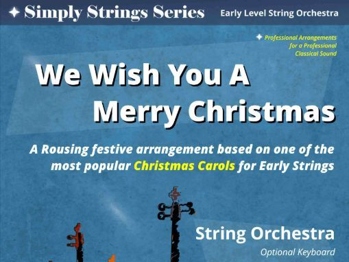 We Wish You A Merry Christmas (String Orchestra)