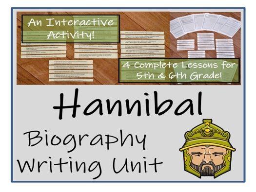 UKS2 History - Hannibal Biography Writing Unit