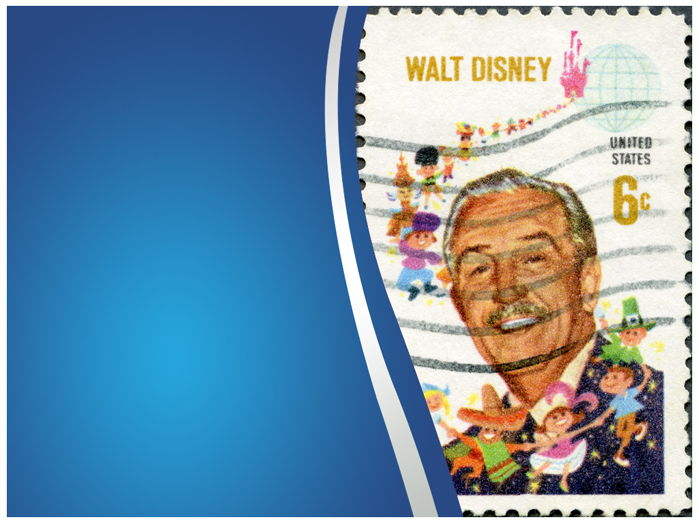 WALT DISNEY POWERPOINT TEMPLATE