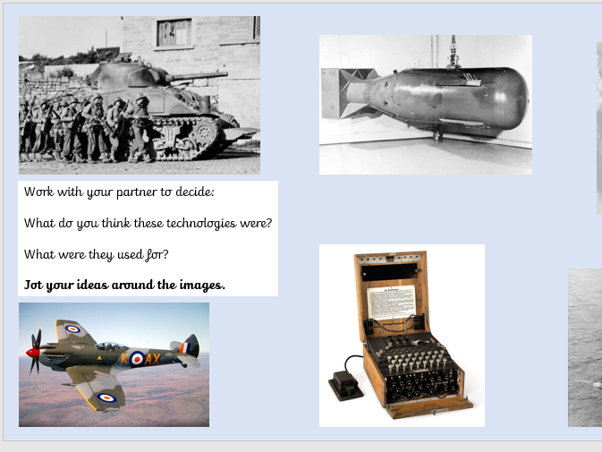 Y5/6 WW2 Unit - Life is a Journey
