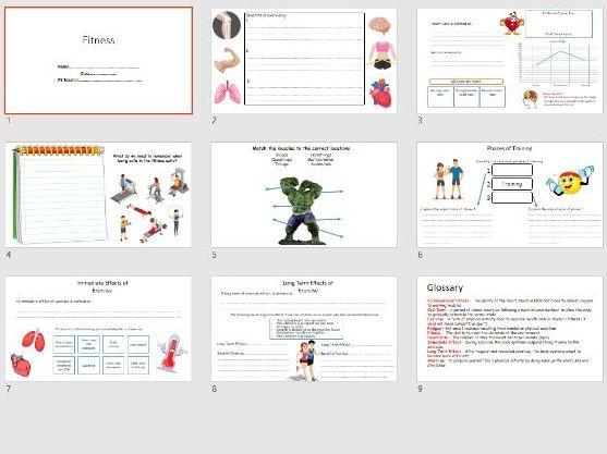 KS3 Fitness Booklet