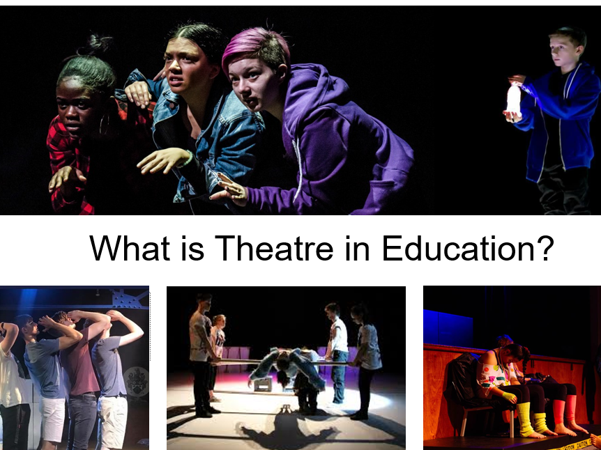 Theatre In Education KS4 Drama GCSE SOW Blended Learning