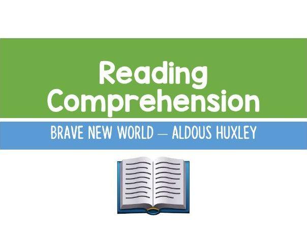 Brave New World - Reading Comprehension