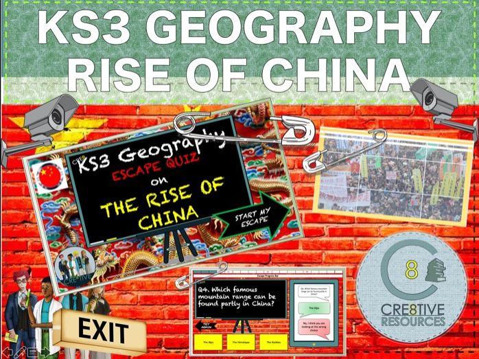 Rise of China - Geography KS3