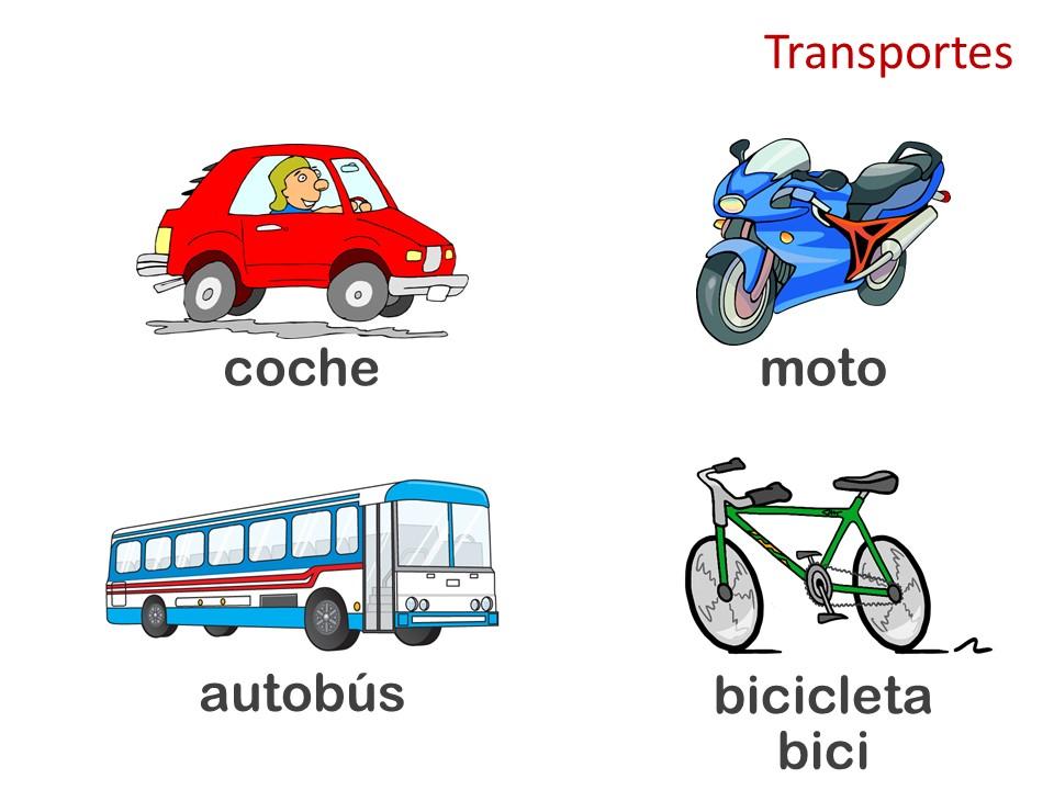 Transportes + Indicaciones