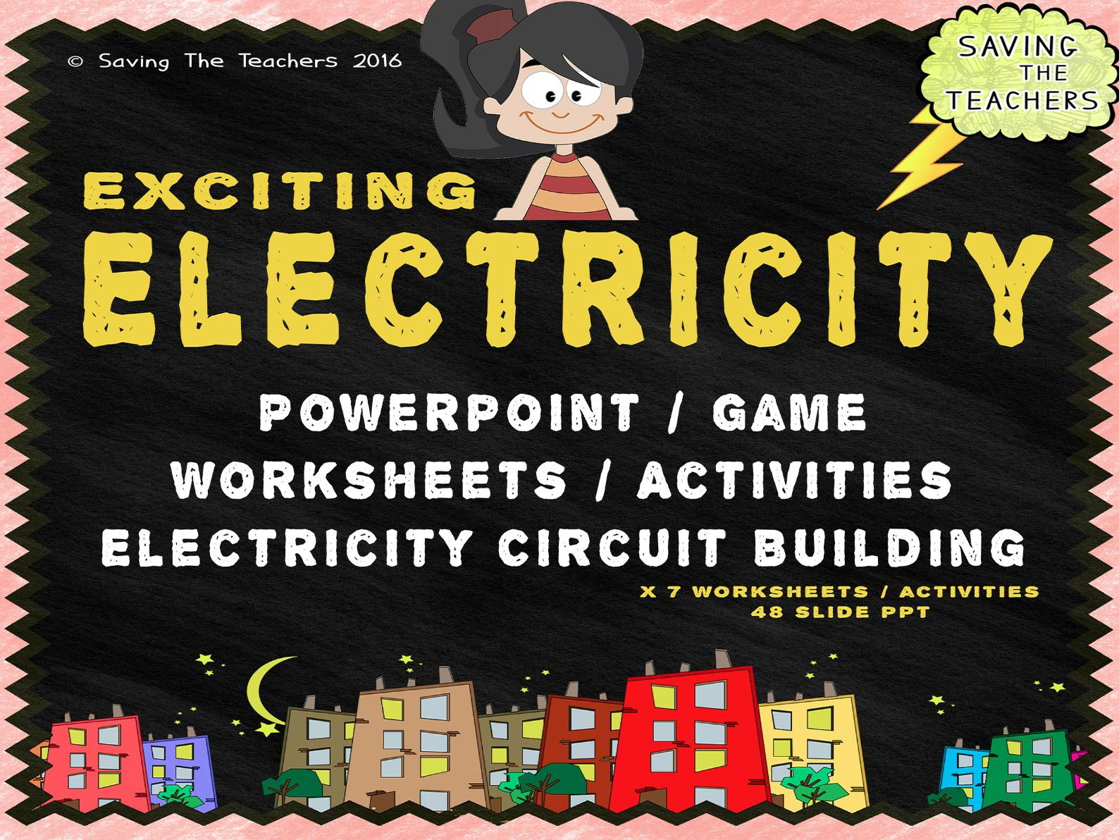 Worksheets Electricity Worksheet electricity powerpoint worksheets activities and circuit builder bundle by adamjharvey245 teaching resources tes