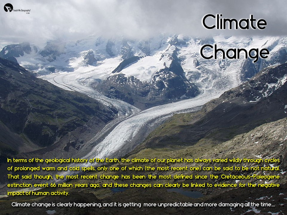 GCSE Geography Case Studies - Climate Change Revision