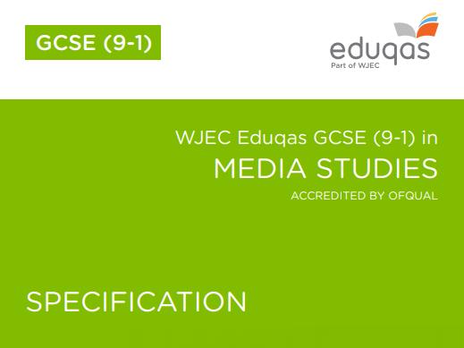 30 Exam Questions for GCSE Media Studies