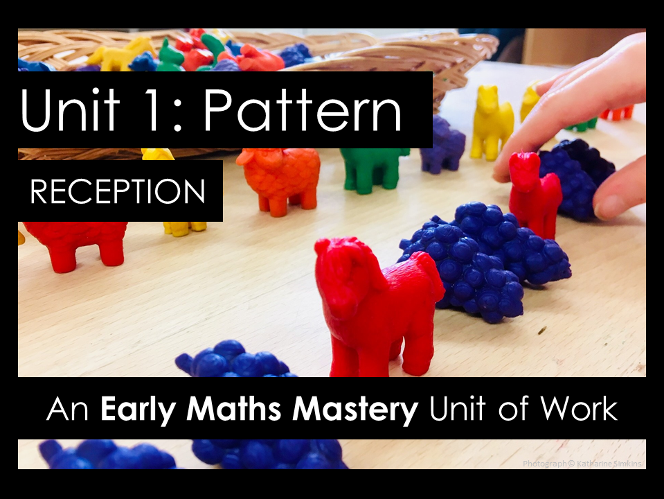 Pattern - Reception Maths Mastery planning