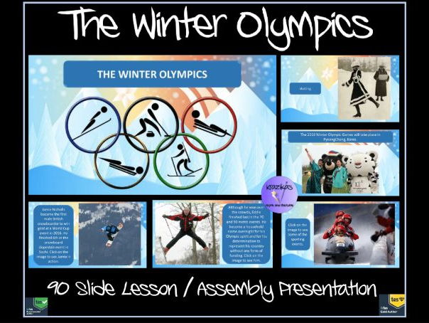 The Winter Olympics: PyeongChang 2018 - Lesson / Assembly Presentation