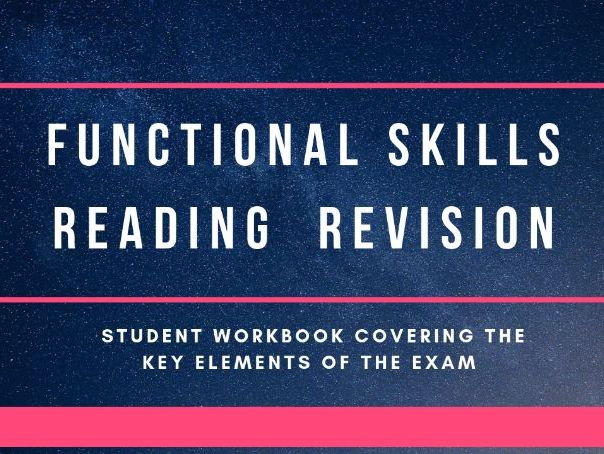 Functional Skills Reading Revision L1-2