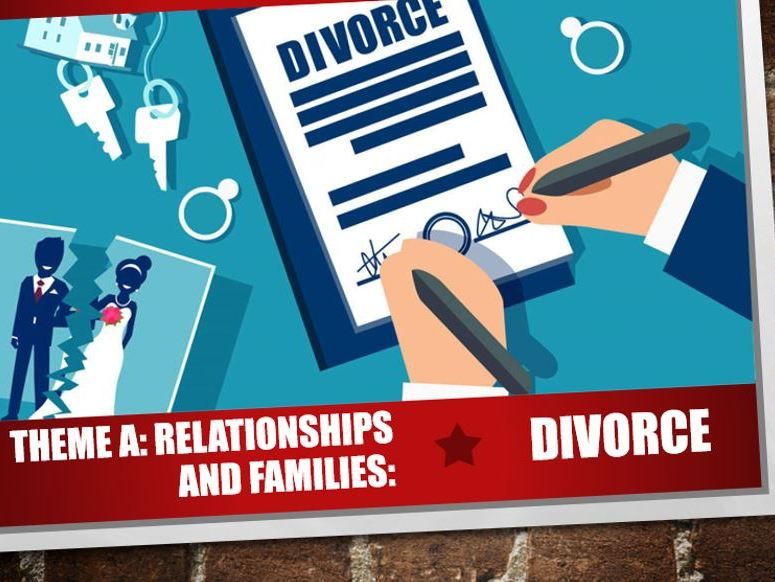 AQA Theme A Relationships and Families 5: Divorce