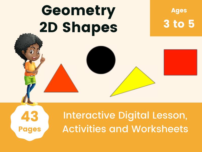 EYFS Geometry - 2D Shapes