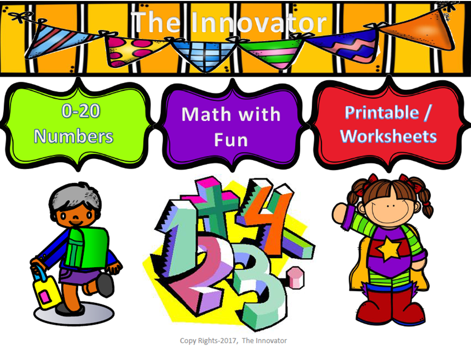 Learning Numbers with Fun…..!
