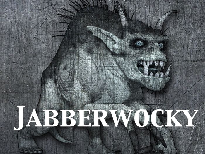Jabberwocky - Making Sense of  Nonsense - Complete Lesson