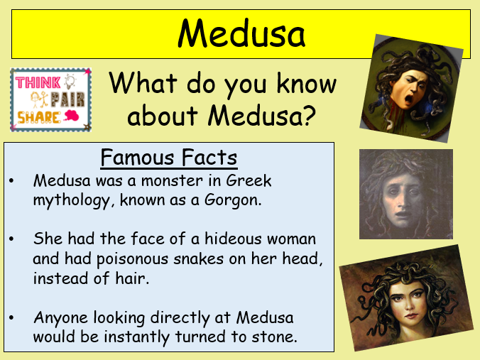 Medusa Poetry Theme (2/3 Lessons) for KS2 and KS3.