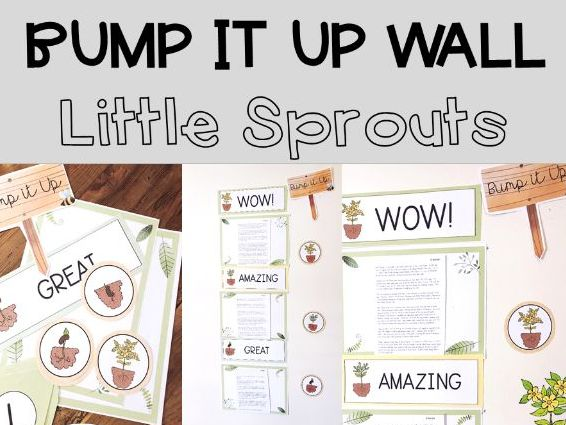Little Sprouts Bump It Up Wall Display
