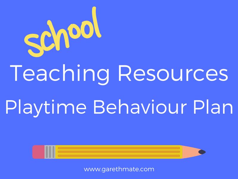 Playtime Behaviour Plan