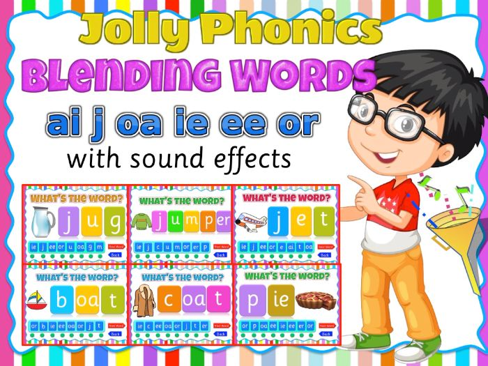 Phonics Blending activity game- (ai, j, oa, ie, ee, or) Animated PPT game for smart board