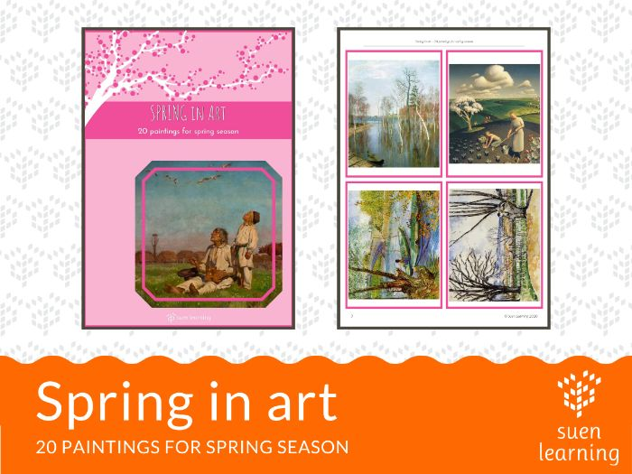 Spring in art - 20 paintings for spring season