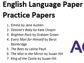 AQA English Language Paper 1 Lessons, Practice Papers and Feedback