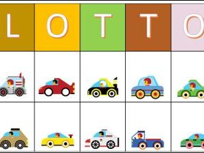 Lotto Game with Vehicles