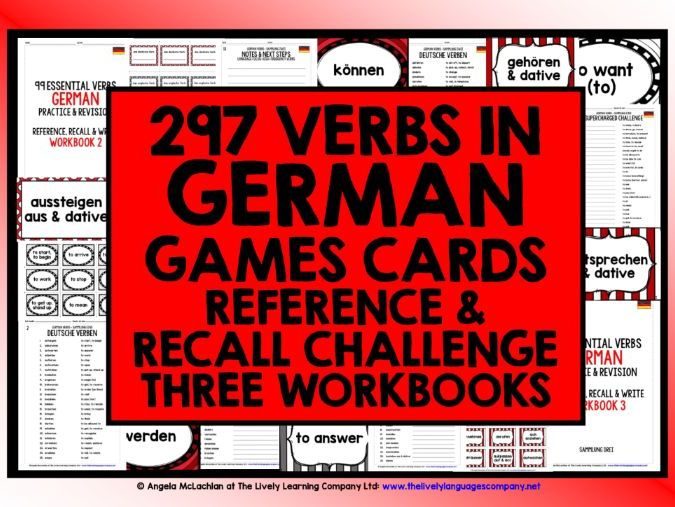 GERMAN HIGH-FREQUENCY VERBS