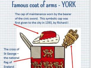 Heraldry: Coat of Arms lesson - Medieval History