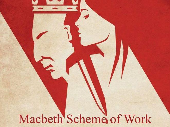 Macbeth 225 slide Powerpoint - Full SoW