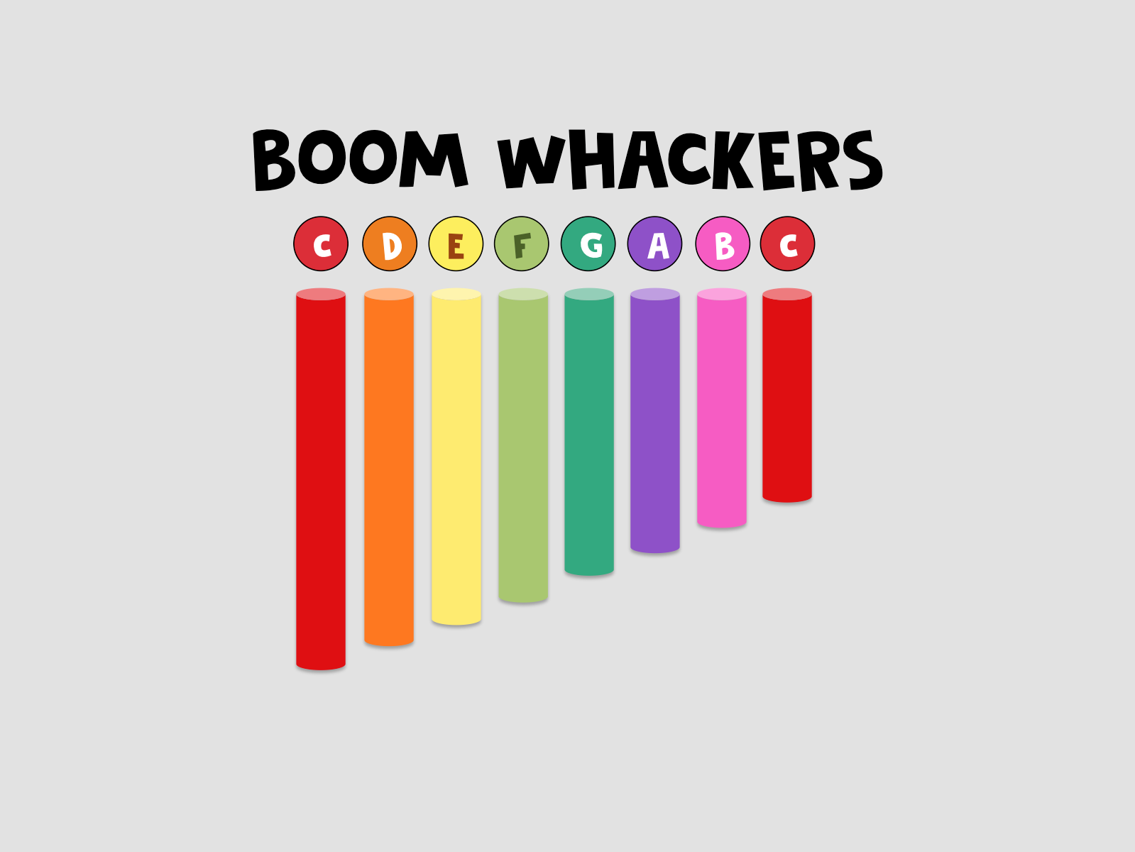 15 BOOMWHACKER PIECES