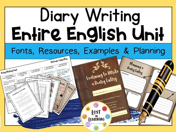 KS2: Diary Writing (Entire Unit)