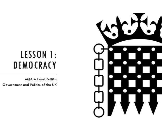 AQA A Level Politics - UK Politics - Democracy